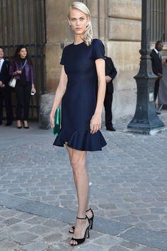 Aymeline Valade en Christian Dior http://www.vogue.fr/mode/look-du-jour/articles/aymeline-valade-en-christian-dior/24034