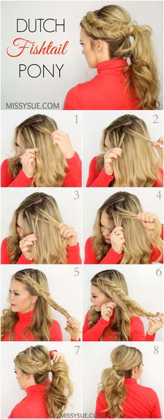 How To Do The Twisted Fishtail - The Trendiest Hairstyle Of The Season