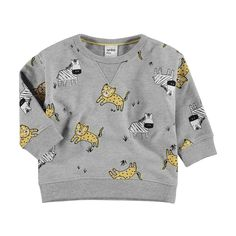 Printed Sweatshirt | KmartNZ Baby Clothes Online, Baby Online, Baby Boy Outfits, Kids Outfits, September Baby, Boys Underwear, Printed Sweatshirts, Jacket Dress, Graphic Sweatshirt