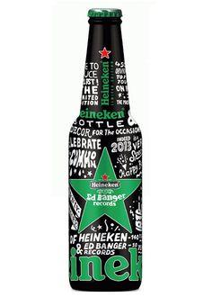 If It's Hip, It's Here: Heineken X Ed Banger Records Glow In The Dark Bottle by So Me.