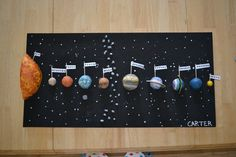 Pictures of solar system planets project - Solar System Projects For Kids, Diy Solar System, Solar System Model, Solar System Planets, Planet Project, Project 4, Science Projects, School Projects, School Ideas