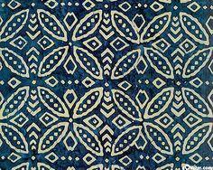 japanese blue circles batik wallpaper - Google Search