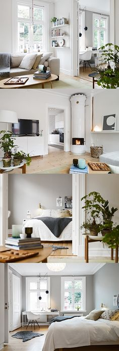 "Wondeful light & airy appartement in ""Majorna"" in Gothenburg, Sweden - Photowall blog"
