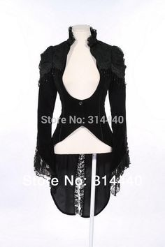 Rq bl Gothic Coat Clothing Women's Spring Vintage Cotton Lace Swallow Coat 21119-in Basic Jackets from Women's Clothing & Accessories on Aliexpress.com | Alibaba Group