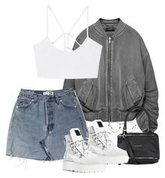 """Untitled #713"" by gypsy-daydreams ❤ liked on Polyvore featuring Givenchy, Puma, MANGO and Linda Farrow"