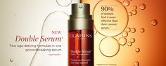 Introducing the new #Clarins Double Serum http://www.clarinsusa.com/Double-Serum/C010408020,en_US,pd.html#