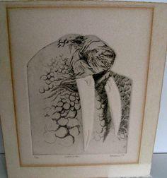 Vintage Eskimo walrus art Alaskan Inuit art by RetroandReclaimed