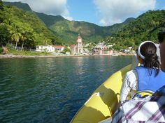 Dominica. The Nature Island of the Caribbean, Home of Pirates of the Caribbean And Bubbling Seas