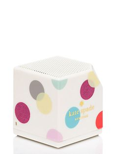 balloon dot bluetooth speaker by kate spade new york Kate Spade, Works With Alexa, Camera Accessories, Graduation Gifts, How To Introduce Yourself, Dots, Polka Dot, Balloons, Iphone Cases
