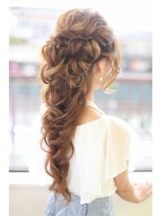 Bohemian romance braid - I wish I could have this every day, but it would take forever!