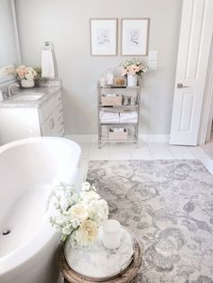 Adding Bathroom to House Best Of Bathroom Update Adding Stylish Storage to Control the Bathroom Rugs, Small Bathroom, Bathroom Ideas, Bathroom Organization, Organized Bathroom, Relaxing Bathroom, Bathroom Spa, Master Bathrooms, Master Bedroom