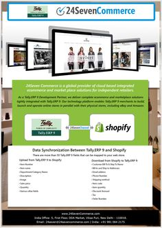 24Seven Commerce Launched Tally.ERP 9 Integration with #Shopify.
