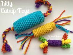 By Jenni Designs: Free Crochet Pattern: Kitty Catnip Toys