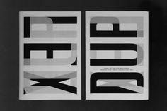 "typografika: ""https://www.behance.net/gallery/41505589/Art-book-Duplex """