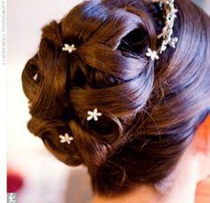 Pretty hair. :)