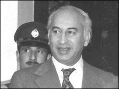 Pakistani Prime Minister Zulfikar Ali Bhutto is executed on April4, 1979.