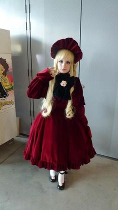 Picture by frank ^^ ~PastelBat as Shinku from Rozen Maiden