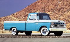 I miss our old truck...65 Ford...passed up everything but a gas station....steering it could be like wreastling a bull...but it was a fun truck!