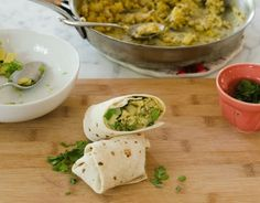 How To Wrap a Burrito (So It Doesn't Fall Apart When You Eat It!)