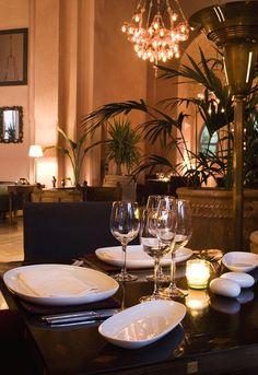 Dinner at Salammbô, for a chic soirée