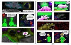 2 pages from my comic Digirat - 2! #humor #comiccon - Download the sci-fried ecomic here: https://digirat.bandcamp.com/album/digirat-2