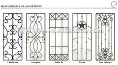 Madera de hierro forjado puertas exteriores diseño DJ-S9990MWA ...