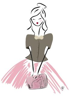 holiday 2012 gift guide : books for the fashion illustrator (fashion illustration by brooke costello)