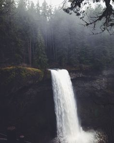 waterfalls...  ahhh..  the sound, the beauty, the misty cool air.  smells.  the mountains, animals, plants.  walking in the water.  hiking.  so beautiful.