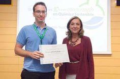 Un titulat de la Universitat de València, premi SusChem a Joves Investigadors Químics