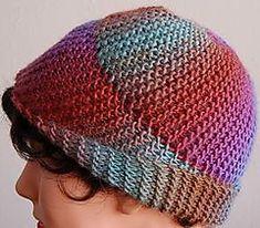 Ravelry: Mochi Plus Spiral Hat pattern by Sandi Rosner