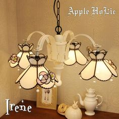 Xmas Lights, Fairy Lights, Kitchen Witch, Pretty Lights, Chandelier, Pendant Lamps, Stained Glass, Lanterns, Ceiling Lights
