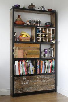 Kitchen storage wall inspiration