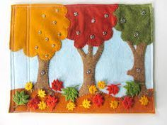 I like the binding idea and the snap on things. quiet book size layout - Google Search