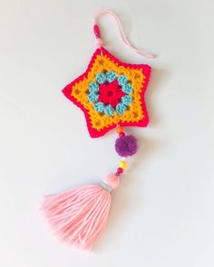 Items similar to Granny Star Crochet pattern / tutorial PDF file on Etsy Crochet Home, Cute Crochet, Knit Crochet, Crochet Garland, Bold Prints, Christmas Colors, Fabric Art, Lana, Crochet Projects