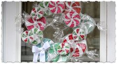 These peppermint candies made from Styrofoam discs are nothing new, they've been around for years. But instead of just making ornaments or table displays, why not make a bunch and turn them into a pretty wreath to display on your door this Christmas! This was actually a really fun wreath to make. As messy asRead More »
