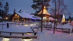 A view of Santa Klaus Village, Rovaniemi
