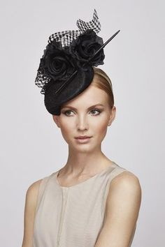 Flower & Quill cocktail hat | Juliette Botterill Millinery SS 2014