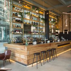 Regent's Place - The refinery bar – photos of the refinery bar, London