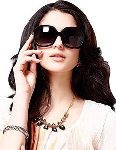 ff0803635de Amazon.com  LianSan Acetate Oversized Women s Sunglasses Uv400 Protection Polarized  Sunglasses Simple Sunglasses Lsp301H (POLARIZED BLACK)  Shoes