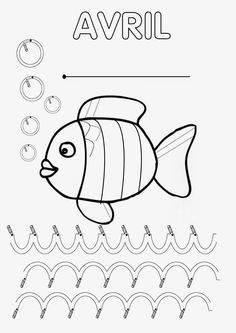 22 Meilleures Images Du Tableau Coloriage Poisson Coloring Book