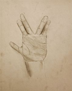 Live long and Prosper - Drawing hand gestures lesson - middle school Group Art, Cool Art Projects, Live Long, Awesome Art, Art Blog, Human Body, Art Lessons, New Art, Middle School