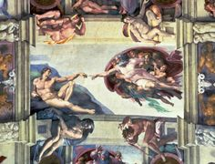 Creation of Adam Fresco Sistine Chapel Vatican Michelangelo Buonarroti 1512 Painting Prints, Fine Art Prints, Sistine Chapel Ceiling, Canvas Wall Art, Canvas Prints, The Creation Of Adam, Photo Projects, Sacred Art, New Art