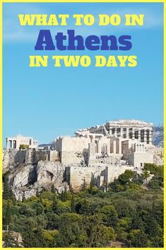 See all the highlights of Athens, and discover some hidden secrets in just a few days. A guide on sightseeing in Athens, Greece by someone who lives there! #athens #greece