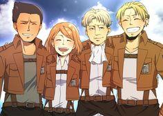 Levi's Squad (Shingeki no Kyojin, Attack on Titan)