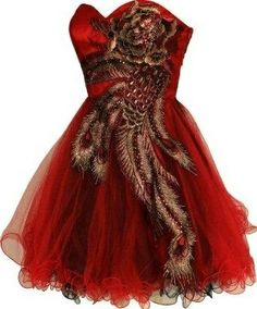 I found 'Peacock Embroidered Holiday Party Prom Dress' on Wish, check it out!