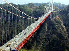 Engenharia e Construção: A ponte suspensa mais alta do mundo