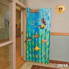 Under the Sea Door Decoration Idea