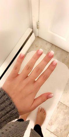 Nageldesign - Nail Artwork - Nagellack - Nail Polish - Nailart - Nails # extraordinary # for Frensh Nails, Hair And Nails, Nail Nail, Gel Toe Nails, Dark Nails, Simple Nail Art Designs, Easy Nail Art, Simple Acrylic Nail Ideas, Simple Wedding Nails