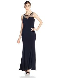 Hailey Logan by Adrianna Papell Juniors\' Cutout Sequin-Band Gown ...