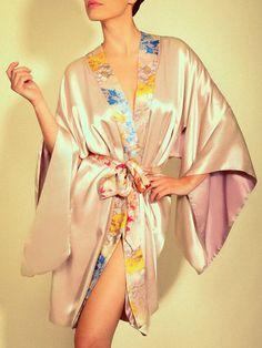 Jenny Packham Secret Garden Silk Robe